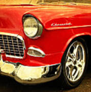 1955 Chevy Red Poster