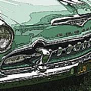 1955 Desoto Grille Poster