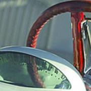 1955 Ford Thunderbird Steering Wheel Poster