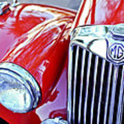1955 Mg Tf 1500 Grille Poster