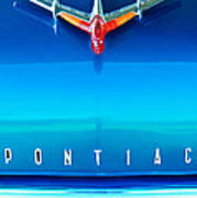 1955 Pontiac Safari Hood Ornament 4 Poster
