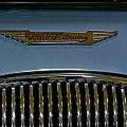 1956 Austin-healey Grill Hood Ornament Poster