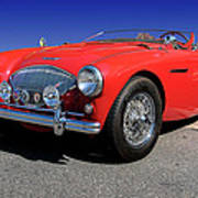 1956 Austin Healey Poster