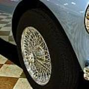 1956 Austin Healey Wheel Poster