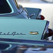 1956 Chevrolet Belair Nomad Rear End Poster