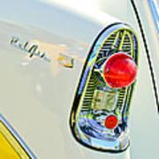 1956 Chevrolet Beliar Nomad Taillight Emblem Poster