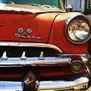 1956 Dodge 500 Series Photo 5b Poster by Anna Villarreal Garbis