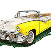 Ford Sunliner Convertible Poster