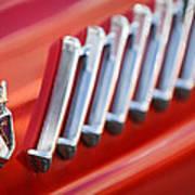 1956 Ford Thunderbird Emblem -278c Poster