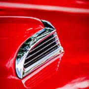 1956 Ford Thunderbird Hood Scoop -287c Poster