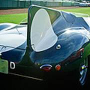 1956 Jaguar D-type Poster