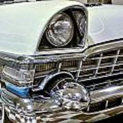 1956 Packard Caribbean Grill Poster