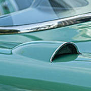 1957 Chevrolet Corvette Scoop Poster
