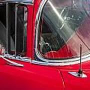 1957 Chevy Bel Air Chrome Poster