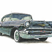 1957 Chevy Poster