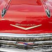1957 Chevy Front End Poster