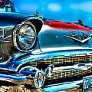 1957 Chevy Grille Poster