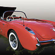 1957 Corvette Fuel Injected Poster