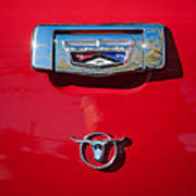 1957 Ford Custom 300 Series Ranchero Emblem Poster
