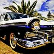 1957 Ford Custom Poster by motography aka Phil Clark