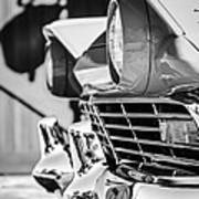 1957 Ford Fairlane Grille -205bw Poster