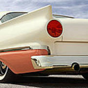 1957 Ford Fairlane Lowrider Poster