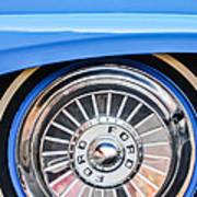 1957 Ford Fairlane Wheel Poster