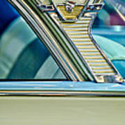 1957 Mercury Monterey Sedan Emblem Poster