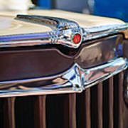 1957 Willys Wagon Grille Poster