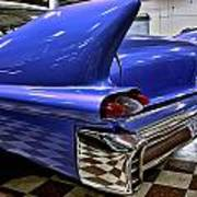1958 Cadillac Deville Rear Fin Poster