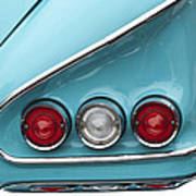 1958 Chevrolet Impala Taillights  Poster
