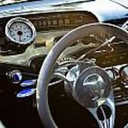 1958 Chevy Impala Dashboard Poster