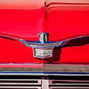 1958 Chrysler Imperial Crown Convertible Emblem Poster