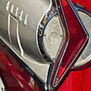 1958 Edsel Wagon Tail Light Poster
