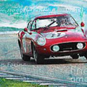 1958 Ferrari 250 Gt Tour De France Poster