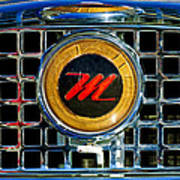 1958 Nash Metropolitan Hood Ornament 3 Poster
