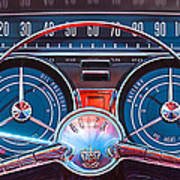 1959 Buick Lesabre Steering Wheel Poster