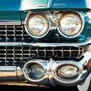 1959 Cadillac Sedan Deville Series 62 Grill Poster