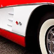 1959 Chevrolet Corvette Poster by David Patterson