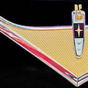 1959 Desoto Adventurer Emblem Poster