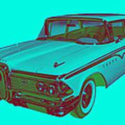 1959 Edsel Ford Ranger Modern Popart Poster