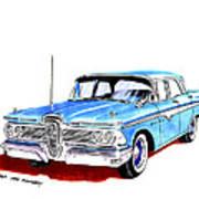 1959 Ford Edsel Ranger 4-door Sedan Poster