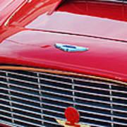 1960 Aston Martin Db4 Grille Emblem Poster