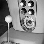 1960 Chevrolet Corvette Instruments Poster by Jill Reger