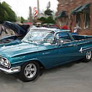 1960 Chevy El Camino Poster