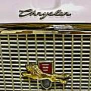 1960 Chrysler Windsor Hood Grill Poster