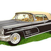 1960 Continental Convertible Poster