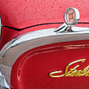 1960 Ford Galaxie Starliner Hood Ornament - Emblem Poster