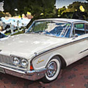 1960 Ford Starliner Poster