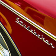 1960 Studebaker Hawk Poster by Carol Leigh